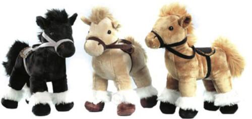 Pferd m. Zaumzeug/Sattel