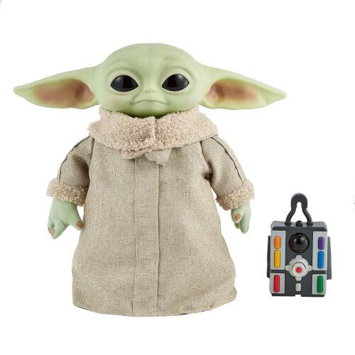Mattel GWD87 Star Wars Mandalorian The Child Baby Yoda Funktionsplüsch