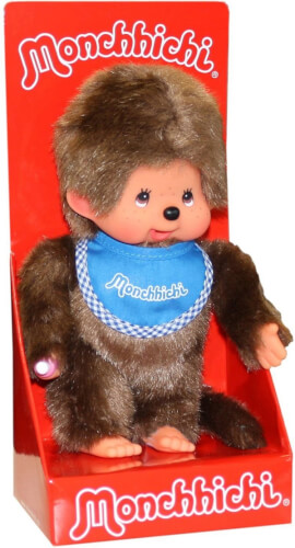 Monchhichi Classic Boy blau, ca. 20 cm