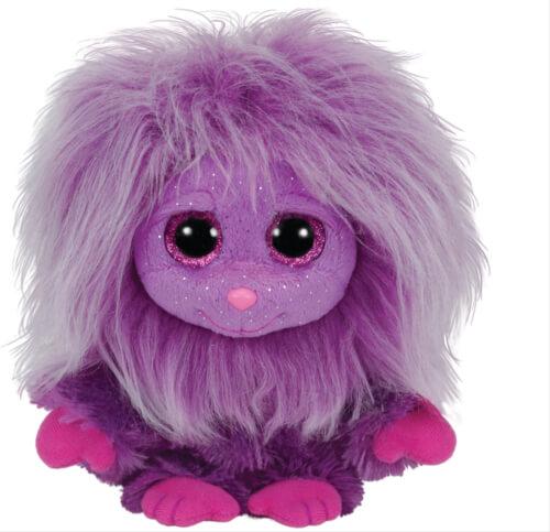 Ty Zwippy - lila Frizzy, ca. 15 cm
