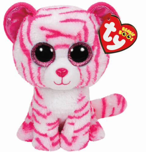 Asia - Tiger weiss/pink, 15cm