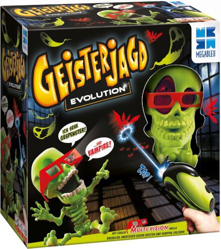 Megableu 678464 - Geisterjagd Evolution, ab 1 Spieler, ca. 10 min, ab 5 Jahren