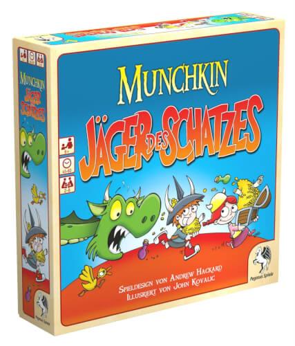 Pegasus Spiele Munchkin - Jäger des Schatzes