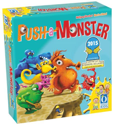 Queen Games Push-a-Monster
