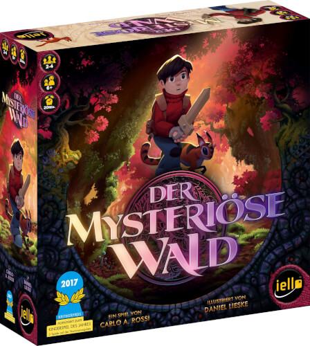 IELLO 513459 - Der mysteriöse Wald, für 2-4 Spieler, ca. 20 min, ab 6 Jahren