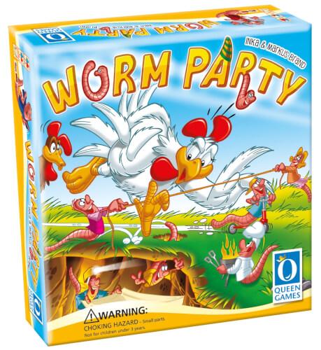 Queen Games Worm Party