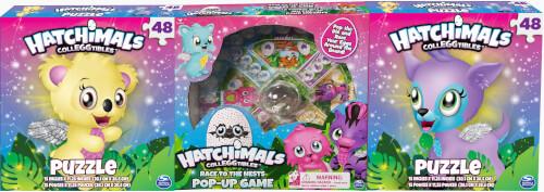 Spin Master Hatchimals 3 Pack Games Bundle