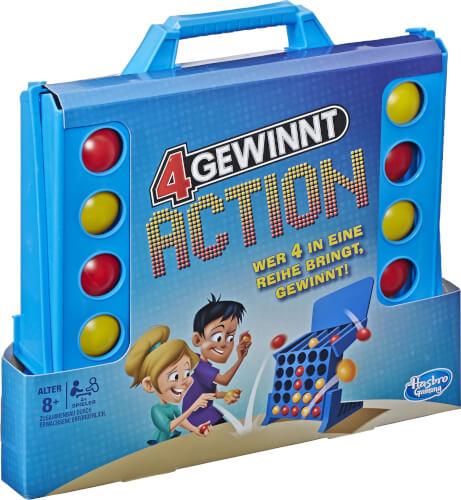 Hasbro E3578100 4 gewinnt Action