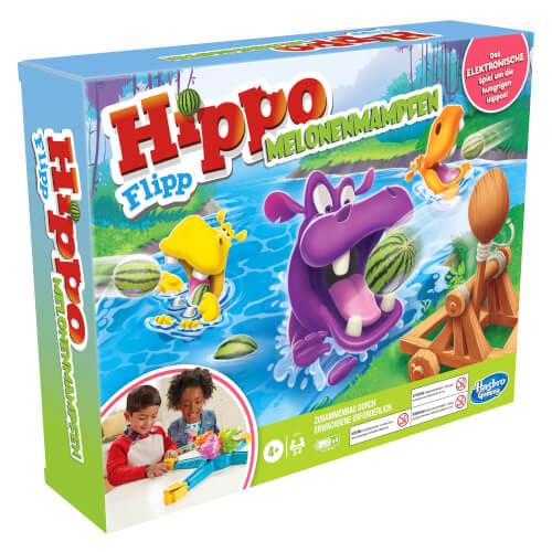 Hasbro E9707800 Hippo Flipp Melonenmampfen