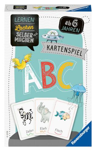 Ravensburger 80347 Lernen Lachen Selbermachen: Kartenspiel ABC