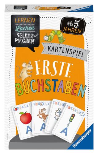 Ravensburger 80659 Lernen Lachen Selbermachen: Kartenspiel Erste Buchstaben