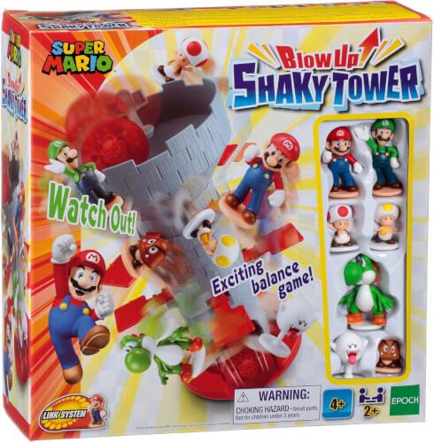 EPOCH Spiele 7356 Super Mario# Blow Up! Shaky Tower