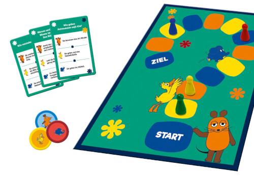Schmidt Spiele 40613 Die Maus, Das Quiz mit der Maus