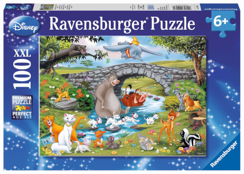 Ravensburger 10947 Puzzle Die Familie der Animal Friends 100 Teile