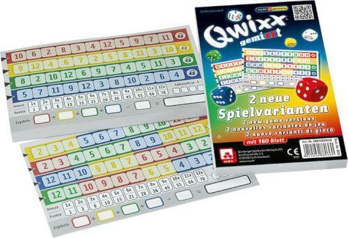 NSV Qwixx gemiXXt - Zusatzblöcke 2er Pack