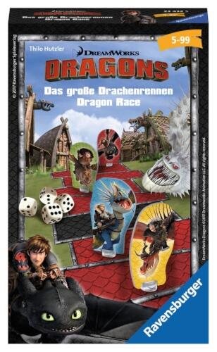 Ravensburger 234325 Dragons Drachenrennen Mitbringspiel