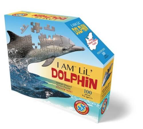 Madd_Capp - Shape Puzzle Junior Delfin 100 Teile