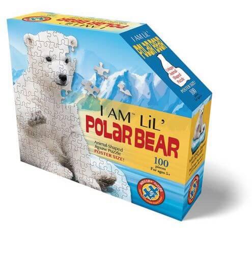 Madd_Capp - Shape Puzzle Junior Eisbär 100 Teile