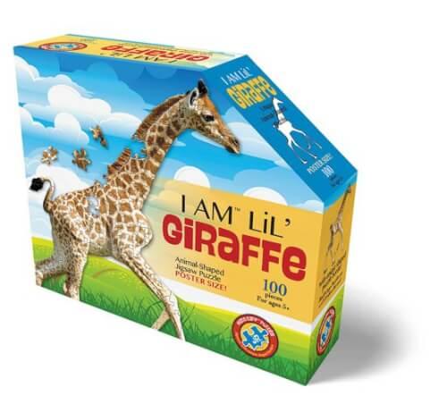Madd Capp - Konturpuzzle Jr. Giraffe 100 XL Teile