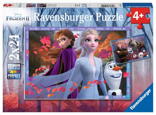 Ravensburger 05010 Puzzle: Disney Die Eiskönigin 2 2x24 Teile