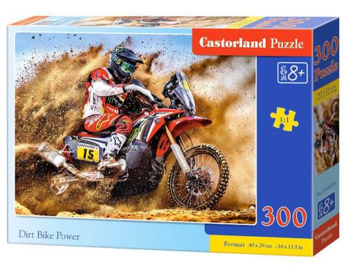 Castorland Dirt Bike Power, Puzzle 300 Teile