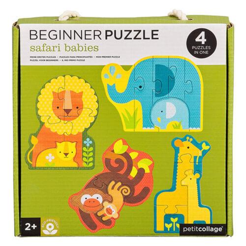 Petitcollage - Beginner Puzzle Safari 3/4/5/6 Teile
