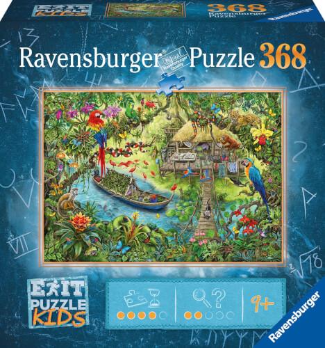 Ravensburger 12924 AT EXIT KIDS Dschungelsaf. 368 Teile