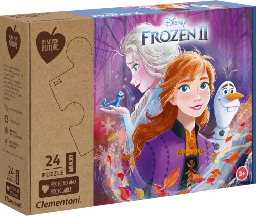 Clementoni Puzzle Maxi Play for Future - Frozen 2 24 Teile