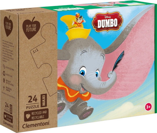 Clementoni Puzzle Maxi Play for Future - Dumbo 24 Teile
