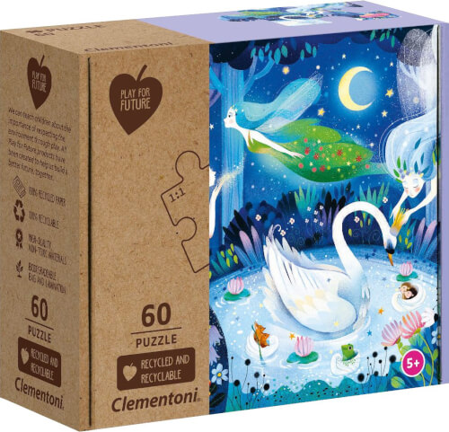 Clementoni Puzzle Play for Future - Enchanted Night 60 Teile