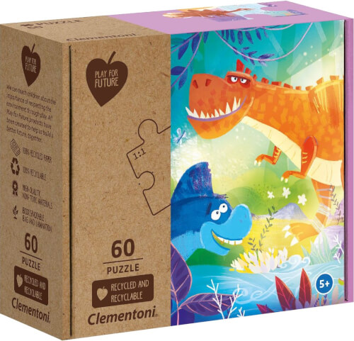 Clementoni Puzzle Play for Future - Freaky Friends 60 Teile