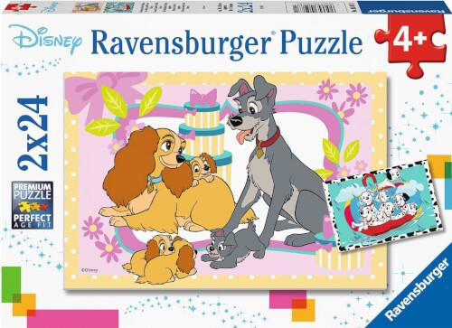 Ravensburger 05087 Puzzle Disneys liebste Welpen 48 Teile