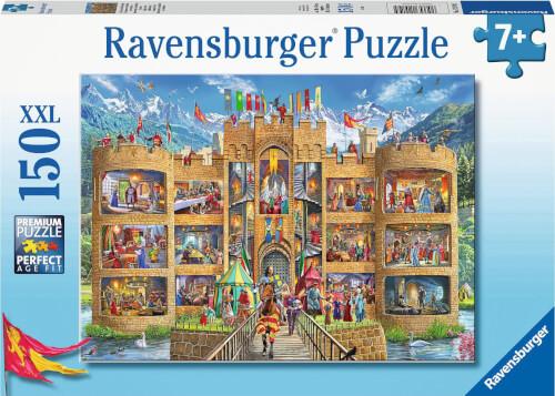 Ravensburger 12919 Puzzle Blick in die Ritterburg 150 Teile