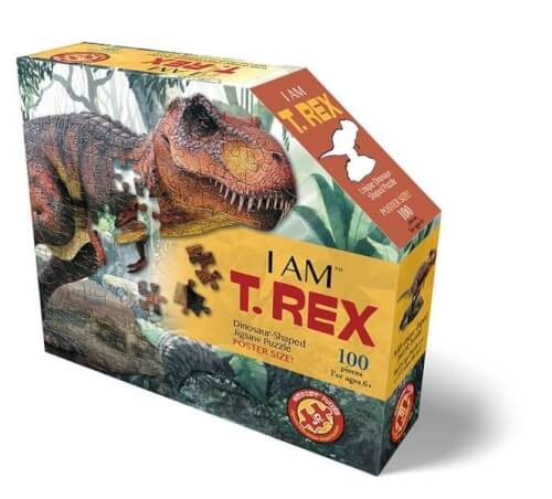 Madd Capp - Konturpuzzle Jr. T-Rex 100 XL Teile