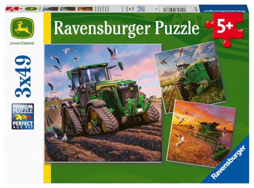 Ravensburger 05173 Puzzle John Deere in Aktion