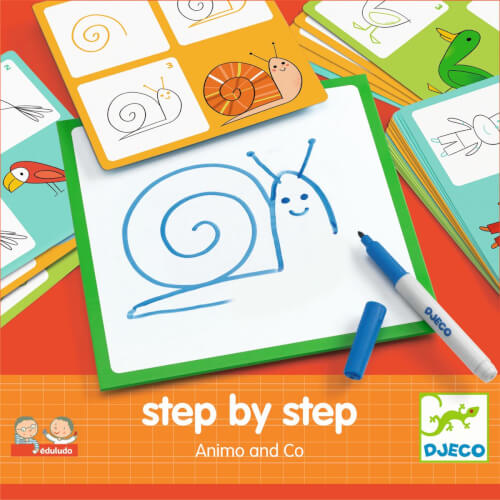 Lernspiele: Step by step - Tiere und Co *