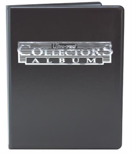 Ultra Pro Tauschalbum klein (4-pocket) schwarz