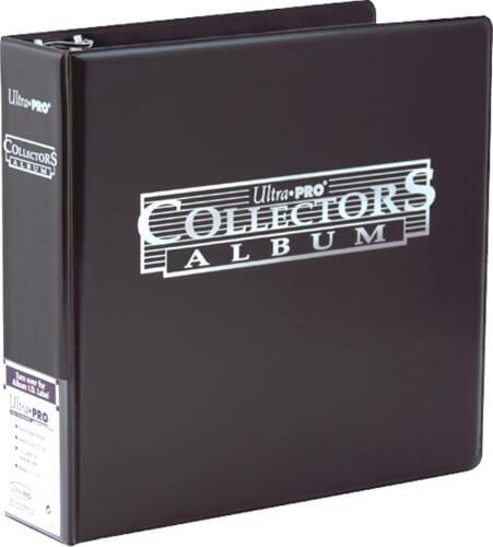 Ultra Pro Collector Card Album schwarz
