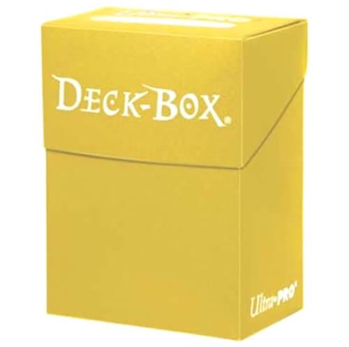 Ultra Pro Deck Box bright yellow