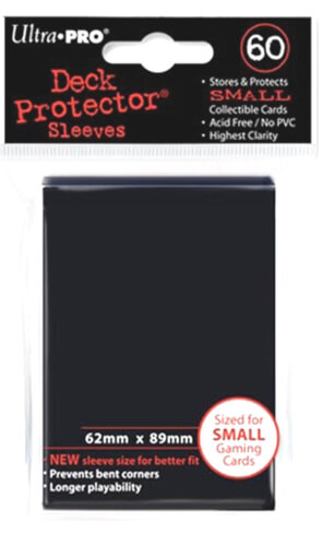 Ultra Pro Karten-Sleeves schwarz (small)