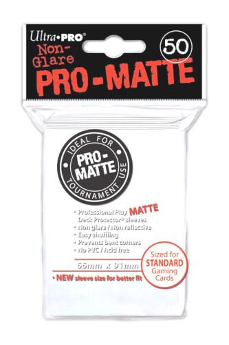 Ultra Pro PRO-Matte Sleeves weiß