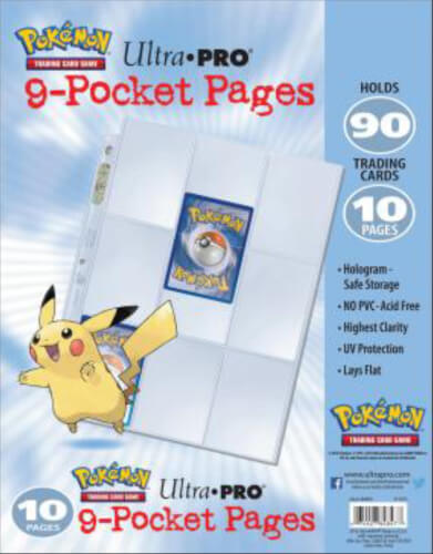 Ultra Pro Pokémon 9-Pocket Platinum Pages