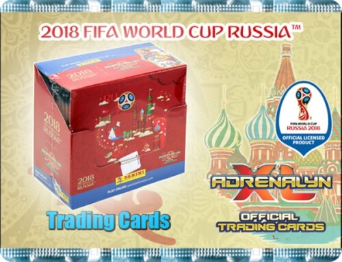Adrenalyn FIFA World Cup Russia Booster