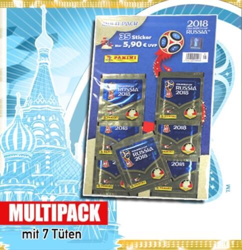 FIFA World Cup Russia 2018 Sticker-Multipack