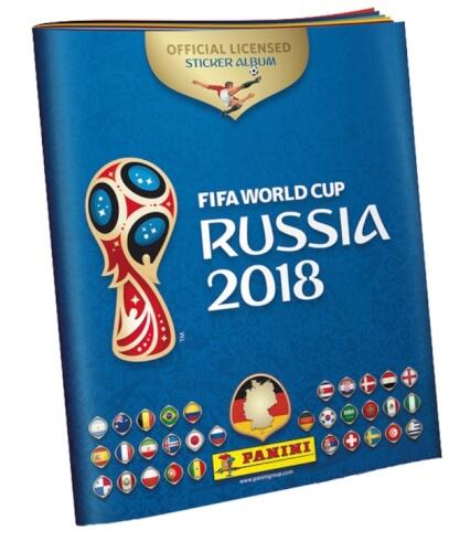 FIFA World Cup Russia 2018 Stickeralbum