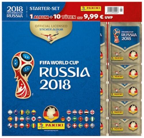 FIFA World Cup Russia 2018 Sticker-Starterset