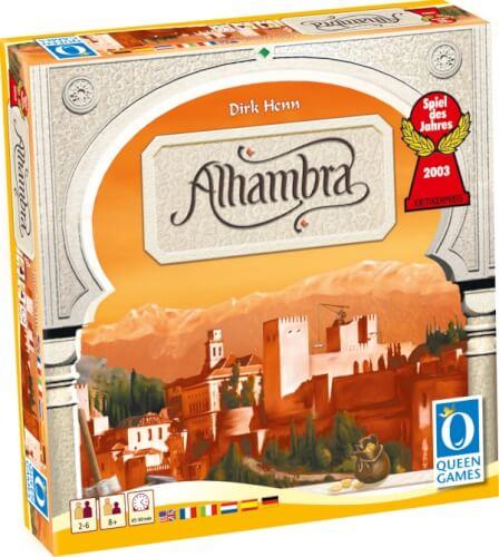 Queen Games Alhambra - Spiel des Jahres 2003