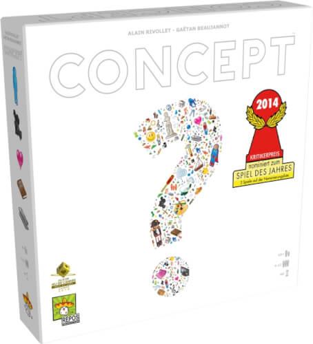 Asmodee Repos - Concept, ab 10 Jahren, 4 bis 16 Spieler