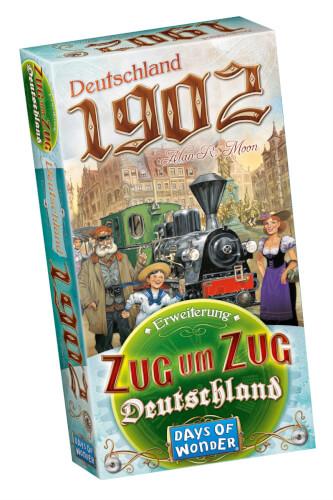 Asmodee Zug um Zug - Deutschland 1902 Erweiterung