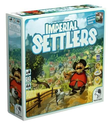Pegasus Spiele Imperials Settlers (deutsche Ausgabe)